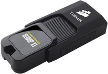 Stick USB Corsair Voyager Slider X1, 256GB, USB 3.0 (Negru)