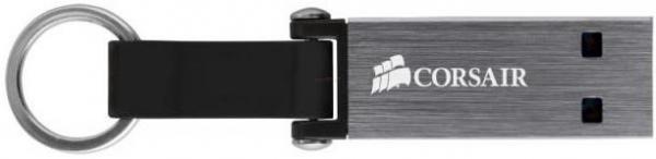 Stick USB Corsair Voyager Mini, 64GB, USB 3.0 (Gri)