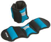 Benzi Greutati Kettler pentru incheieturile mainolor si a picioarelor, 2 x 0.75 kg (Albastru)