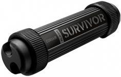 Stick USB Corsair Survivor Stealth 128GB USB 3.0, rezistent la apa si socuri