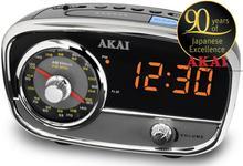 Radio cu ceas Akai CE-1401 (Gri)