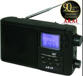 Radio cu ceas Akai APR-2418 (Negru)