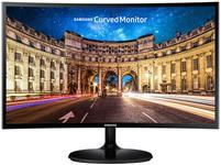 "Monitor VA LED Samsung 27"" LC27F390FHUXEN, Full HD (1920 x 1080), HDMI, VGA, 4 ms, Ecran Curbat (Negru)"