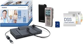 Set Reportofon + Set transcriere Olympus DS-2500, RS28H, E102, DSS-Player Standard