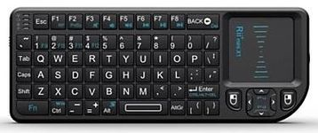 Mini tastatura Rii X1, wireless, cu touchpad