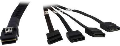 Adaptor SATA -> SAS Inter-Tech 88885237, Cross-Over