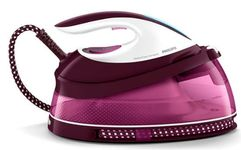 Statie de calcat Philips  Perfect Care GC7808/40, Talpa SteamGlide, 2400W, 1.5l (Alb-Mov)