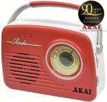 Radio portabil Akai APR-11R (Rosu)