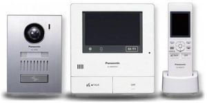 Kit Videointerfon Wireless Panasonic VL-SWD501UEX (Alb/Argintiu)