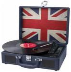 Pick-up Stereo Muse MT-102 UK, USB, Boxe incorporate (Albastru)