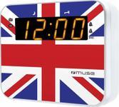 Radio cu ceas Muse M-165 UK (Multicolor)