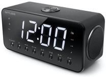 Radio cu ceas Muse M-192 CR, portabil, LED, Dual Alarm (Negru)