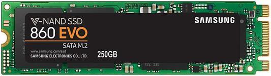 SSD Samsung 860 EVO, 250GB, M.2 2280, SATA III 600