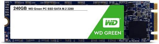 SSD Western Digital Green M.2 2280, 240GB, SATA III 600