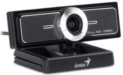 Camera Web Genius WideCam F100, 1080p (Negru)