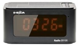 Radio cu ceas digital E-Boda ER 100 (Negru)