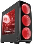 Carcasa Genesis Titan 750 Red (Negru)