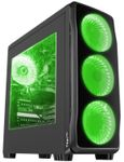 Carcasa Genesis Titan 750 Green (Negru)