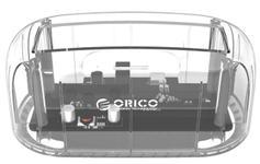Dock Orico HDD/SSD 6139U3, USB 3.0 (Transparent)