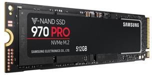 SSD Samsung 970 PRO, 512GB, M.2 2280, PCI Express x4