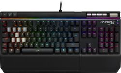 Tastatura Gaming Kingston HyperX Alloy Elite, Iluminata, RGB, Cherry MX Blue, USB (Negru)