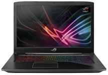 Laptop Gaming ASUS ROG GL703GS-E5011 (Procesor Intel® Core™ i7-8750H (9M Cache, up to 4.10 GHz) Coffee Lake, 17.3 FHD, 16GB, 1TB HDD@5400RPM + 256GB SSD, nVidia GeForce GTX 1070 @8GB, Wireless AC, Tastatura iluminata, Negru)