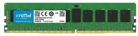 Memorie Server Crucial CT16G4RFD8266 16GB @2666MHz, DDR4, RDIMM, CL19, 1.2V