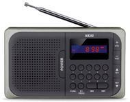 Radio Akai APR-210, Micro SD, USB (Negru)