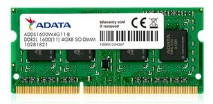 Memorie Laptop A-DATA ADDS1600W4G11-S, DDR3L, 1x4GB, 1600MHz