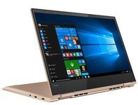 Laptop 2in1 Lenovo Yoga 730 (Procesor Intel® Core™ i7-8550U (8M Cache, up to 4.00 GHz), Kaby Lake R, 13.3 UHD, Touch, 16GB, 512GB SSD, Intel UHD Graphics 620, Wireless AC, Tastatura iluminata, Win10 Home, FPR, Auriu)