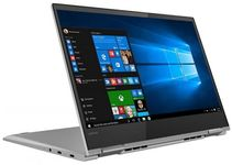Laptop 2in1 Lenovo Yoga 730 (Procesor Intel® Core™ i7-8550U (8M Cache, up to 4.00 GHz), Kaby Lake R, 13.3 UHD, Touch, 8GB, 512GB SSD, Intel UHD Graphics 620, Wireless AC, Tastatura iluminata, Win10 Home, FPR, Argintiu)