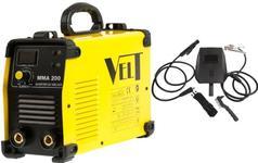 Aparat de sudura uz industrial Velt MMA 200 de tip invertor DC IGBT, 230 V, 200 A