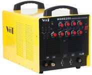 Aparat de sudura Velt TIG/MMA 250 de tip invertor WSME, 230 V, 5 - 250 A, Aluminiu