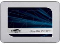 "SSD Crucial MX500, 500GB, Sata III, 2.5"""