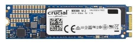 SSD Crucial MX500, 500GB, SATA III, M.2
