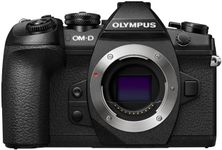 Aparat Foto Mirrorless Olympus E-M1 MARK II Body, 20.4 MP, Filmare 4K, WI-FI (Negru)