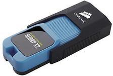 Stick USB Corsair Voyager Slider X2, 512GB, USB 3.0 (Negru/Albastru)
