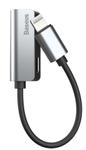 Adaptor Baseus L32 CALL32-0S, Lightning - Jack 3.5mm (Argintiu)