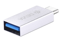 Adaptor Devia Itech DVADAPTC Type-C - USB 3.0 (Alb)