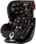 Scaun auto Britax KING II Black Series, 9-18 kg (Comic Fun)
