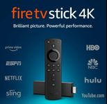 Amazon Fire TV stick control Alexa, Ultra HD 4K (Negru)
