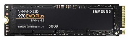 SSD Samsung 970 EVO Plus, 500GB, M.2 2280, PCIe Gen 3.0 x 4, NVMe 1.3