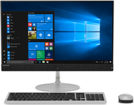 "All In One PC Lenovo IdeaCentre 720S (Procesor Intel® Core™ i7-8550U (8M Cache, 4.0 GHz), Kaby Lake R, 23.8"" FHD, Touch, 8GB, 2TB HDD @5400RPM + 256GB SSD, AMD Radeon 530 @2GB, Win10 Home, Argintiu)"