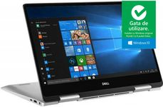 "Laptop 2in1 Dell Inspiron 7386 (Procesor Intel® Core™ i7-8565U (8M Cache, up to 4.60 GHz), Whiskey Lake, 13.3"" FHD, Touch, 16GB, 512GB SSD, Intel® UHD Graphics 620, Win10 Pro, Argintiu)"