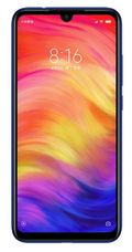 "Telefon Mobil Xiaomi Redmi Note 7, Procesor Octa-Core 2.2/1.8GHz, IPS LCD Capacitive touchscreen 6.3"", 4GB RAM, 64GB Flash, Camera Duala 48MP+5MP, 4G, Wi-Fi, Dual SIM, Android (Albastru)"
