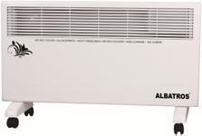 Convector electric Albatros TC-1500A, 2 trepte, 1500 W (Alb)