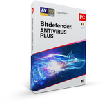 Bitdefender Antivirus Plus 2020, 3 PC, 1 ani, Licenta noua, BOX/Retail