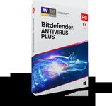 Bitdefender Antivirus Plus 2020, 5 PC, 1 ani, Licenta noua, DVD/Retail