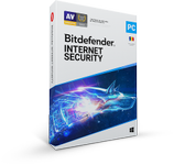 Bitdefender Internet Security 2020, 3 PC, 1 ani, Licenta noua, BOX/Retail