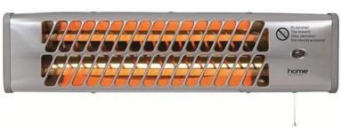 Radiator cu tub de cuart Home FK24, 1200W, IPX4 (Argintiu)